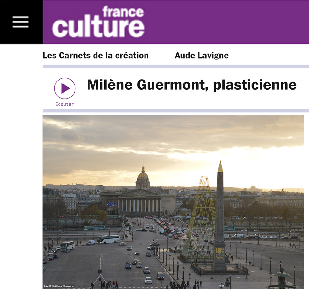 Interview France Culture